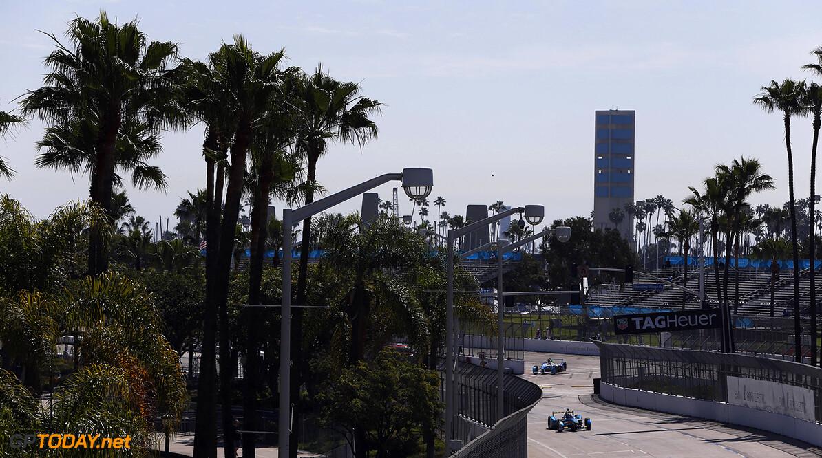2014/2015 FIA Formula E Championship. Long Beach ePrix, Long Beach, California, United States of America. Saturday 4 April 2015  Photo: Zak Mauger/LAT/Formula E ref: Digital Image _L0U7352   Zak Mauger    fe formula e usa