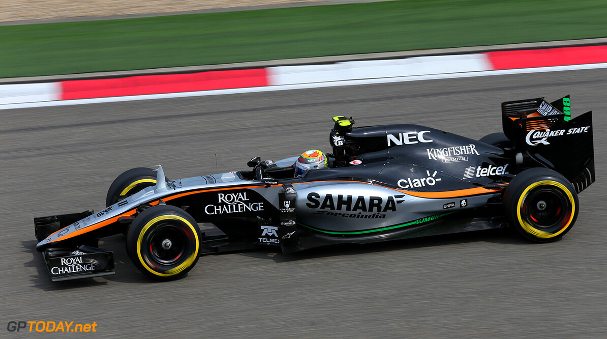 Formula One World Championship Sergio Perez (MEX) Sahara Force India F1 VJM08.