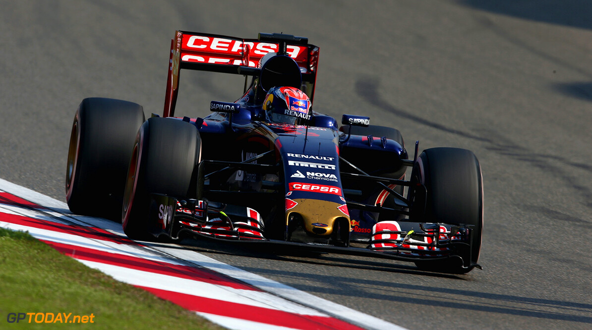 SHANGHAI, CHINA - APRIL 12:  Max Verstappen of Netherlands and Scuderia Toro Rosso drives during the Formula One Grand Prix of China at Shanghai International Circuit on April 12, 2015 in Shanghai, China.  (Photo by Clive Mason/Getty Images) *** Local Caption *** Max Verstappen F1 Grand Prix of China Clive Mason Shanghai China  Formula One Racing formula 1 Auto Racing Formula 1 Grand Prix of China Chinese Formula One Grand Prix Formula One Grand Prix