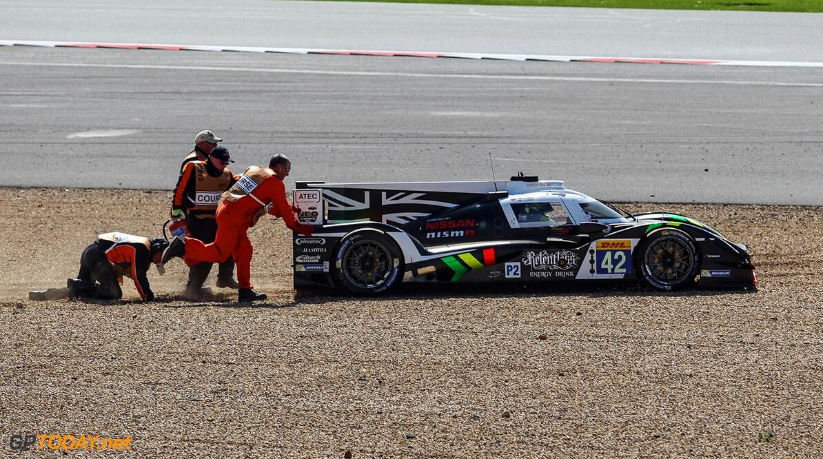ND1_4596.jpg Car #42 / STRAKKA RACING (GBR) / Dome S103 - Nissan / Nick Leventis (GBR) / Danny Watts (GBR) / Jonny Kane (GBR), crash - FIA WEC 6 hours of Silverstone at Northamptonshire - Towcester - United Kingdom  Car #42 / STRAKKA RACING (GBR) / Dome S103 - Nissan / Nick Leventis (GBR) / Danny Watts (GBR) / Jonny Kane (GBR), crash - FIA WEC 6 hours of Silverstone at Northamptonshire - Towcester - United Kingdom  Nick Dungan Towcester United Kingdom  Adrenal Media 6 hours WEC FIA Silverstone England