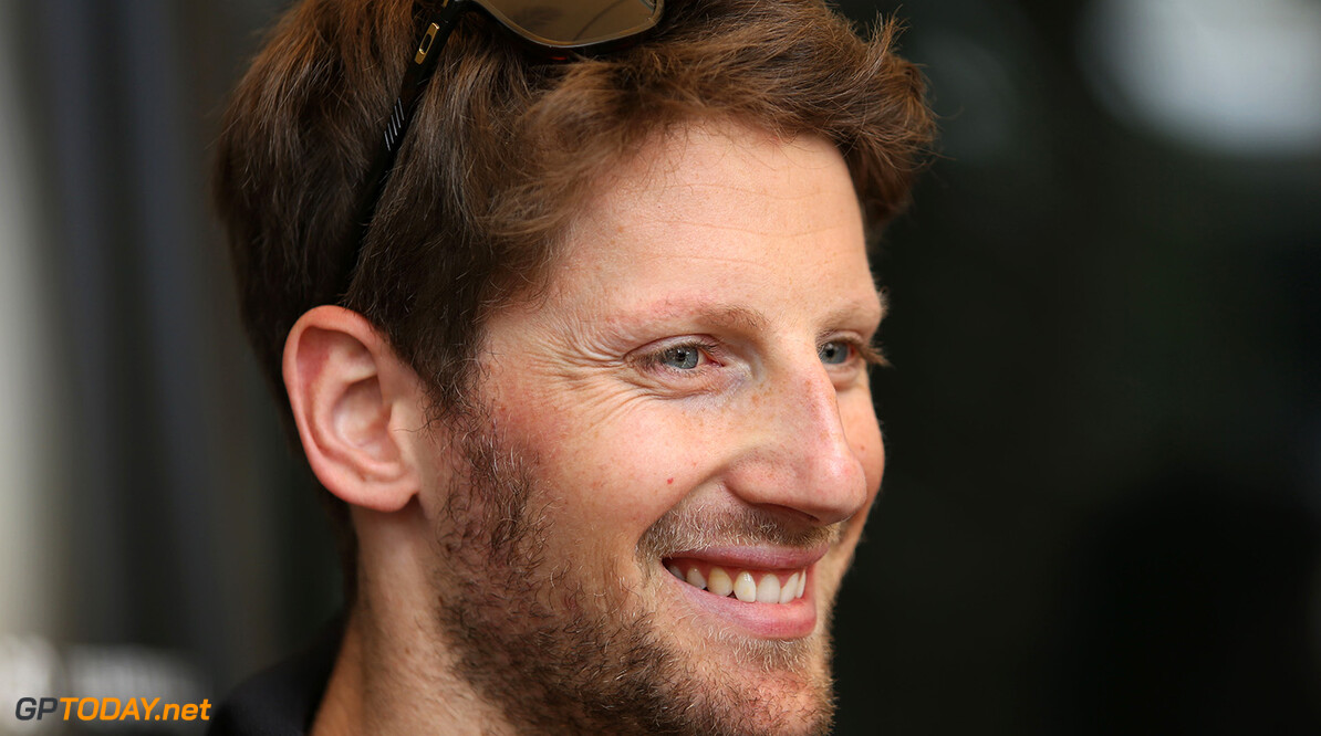 Formula One World Championship Romain Grosjean (FRA) Lotus F1 Team.