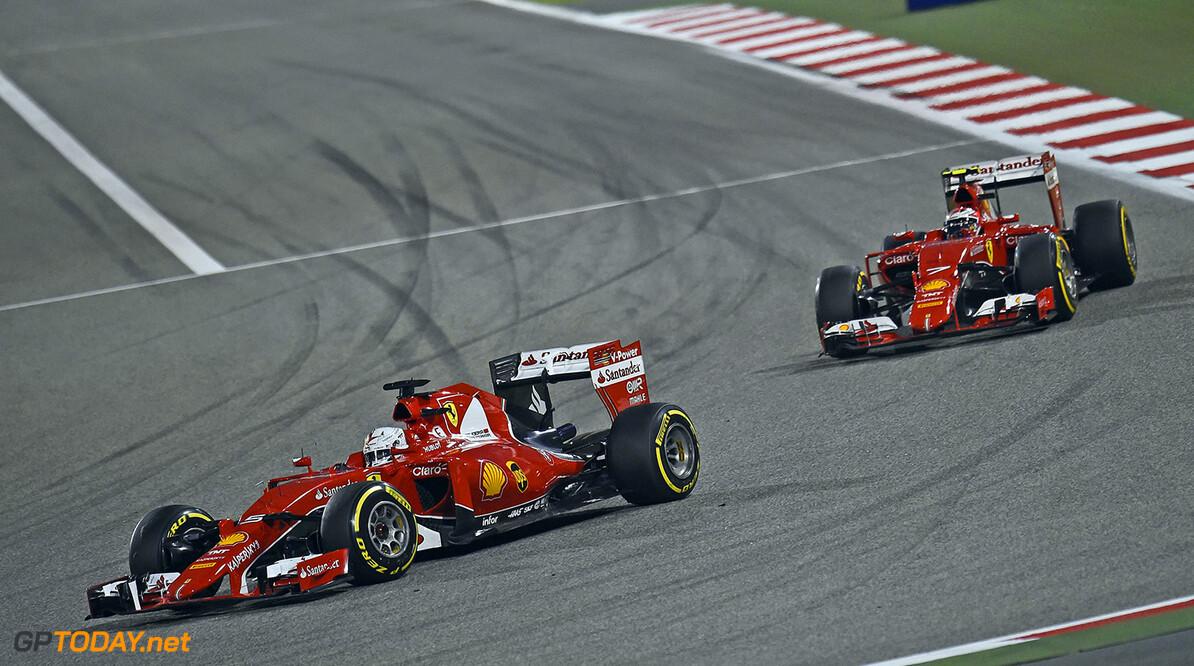 Cooperating drivers 'a relief' for Ferrari - Raikkonen