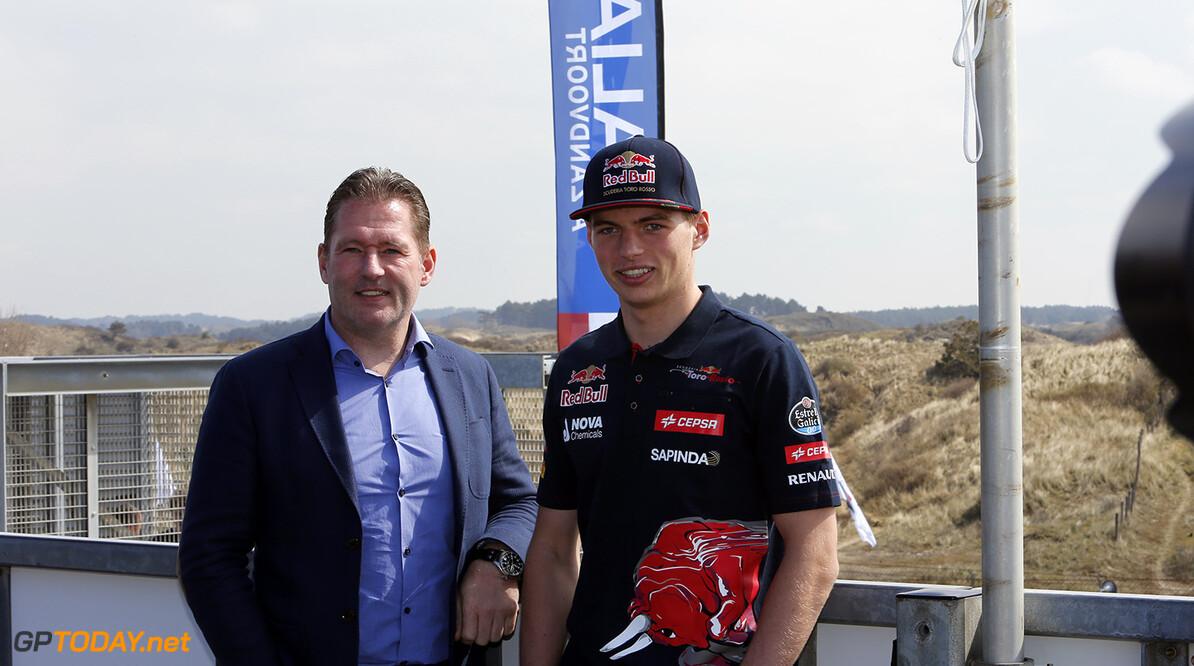 Jos Verstappen in Minardi bij Italia a Zandvoort
