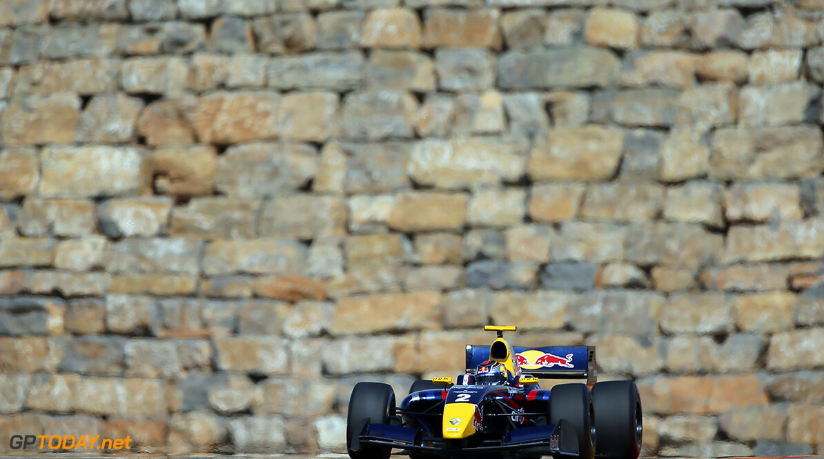 02 STONEMAN Dean (GBR) Dams (FRA) action during the 2015 World Series by Renault from April 24th to 26th 2015, at Motorland Aragon, Spain. Photo Francois Flamand / DPPI. AUTO - WSR MOTORLAND ARAGON 2015 Francois Flamand Alcaniz Spain  2015 Auto Car CHAMPIONNAT ESPAGNE Europe FORMULA RENAULT FORMULES FR FR 3.5 MONOPLACE Motorsport Race RENAULT SPORT series Sport UNIPLACE VOITURES WORLD WORLD SERIES BY RENAULT WSR 2.0