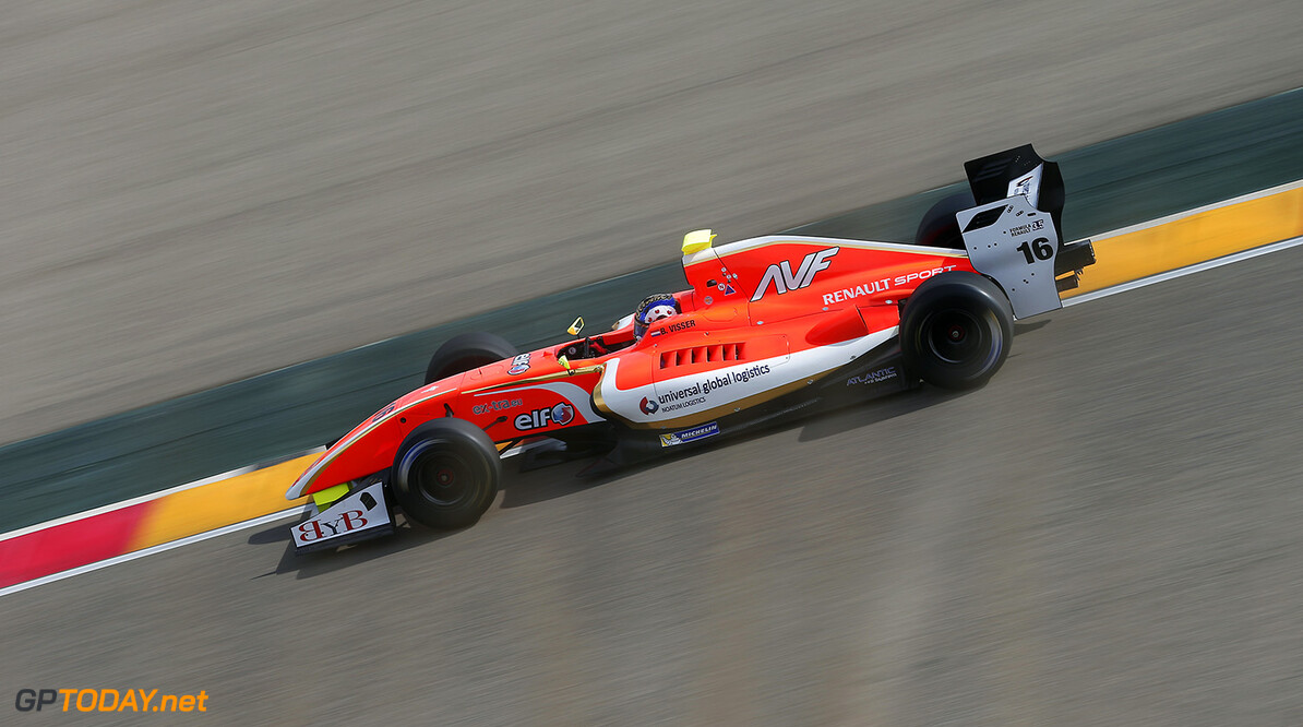 16 VISSER Beitske (NED) AVF (SPA) action during the 2015 World Series by Renault from April 24th to 26th 2015, at Motorland Aragon, Spain. Photo Jean Michel Le Meur / DPPI. AUTO - WSR MOTORLAND ARAGON 2015 Jean Michel Le Meur Alcaniz Spain  2015 Auto Car CHAMPIONNAT ESPAGNE Europe FORMULA RENAULT FORMULES FR FR 3.5 MONOPLACE Motorsport Race RENAULT SPORT series Sport UNIPLACE VOITURES WORLD WORLD SERIES BY RENAULT WSR 2.0