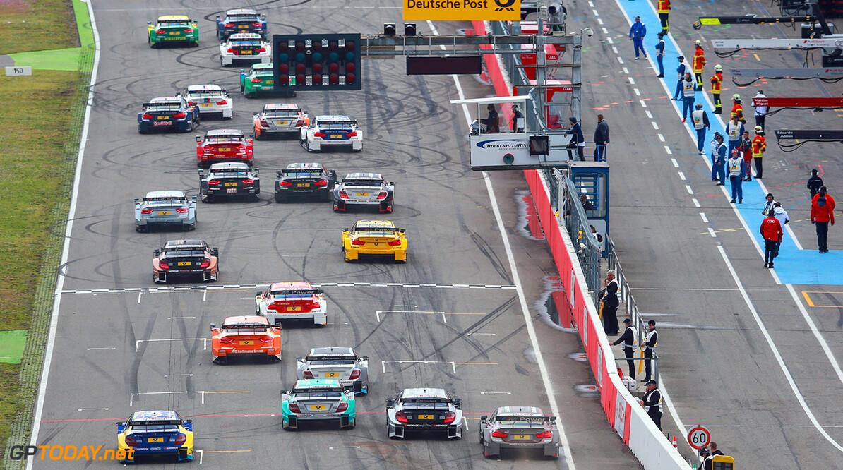 Start Rennen 2  Motorsports / DTM 2. race Hockenheimring, GER  Gruppe C GmbH    Aktion - Action Fahraufnahme Fahrszene - race action Motorsport Partner01 Partner03 Rennen Rennen - race Rennszene Sport fahrt