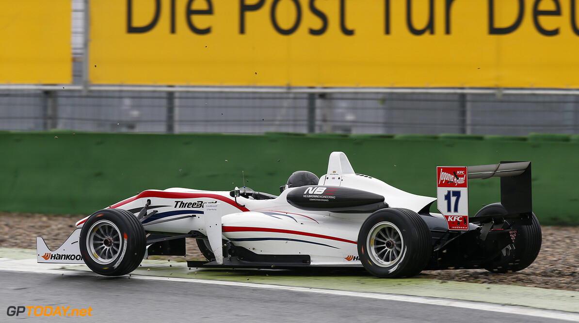 FIA Formula 3 European Championship, round 2, race 3, Hockenheim 17 Julio Moreno (ECU, ThreeBond with T-Sport, Dallara F312 - NBE), FIA Formula 3 European Championship, round 2, race 3, Hockenheim (GER) - 30. April - 3. May 2015 FIA Formula 3 European Championship, round 2, race 3, Hockenheim (GER) Thomas Suer Hockenheim Germany