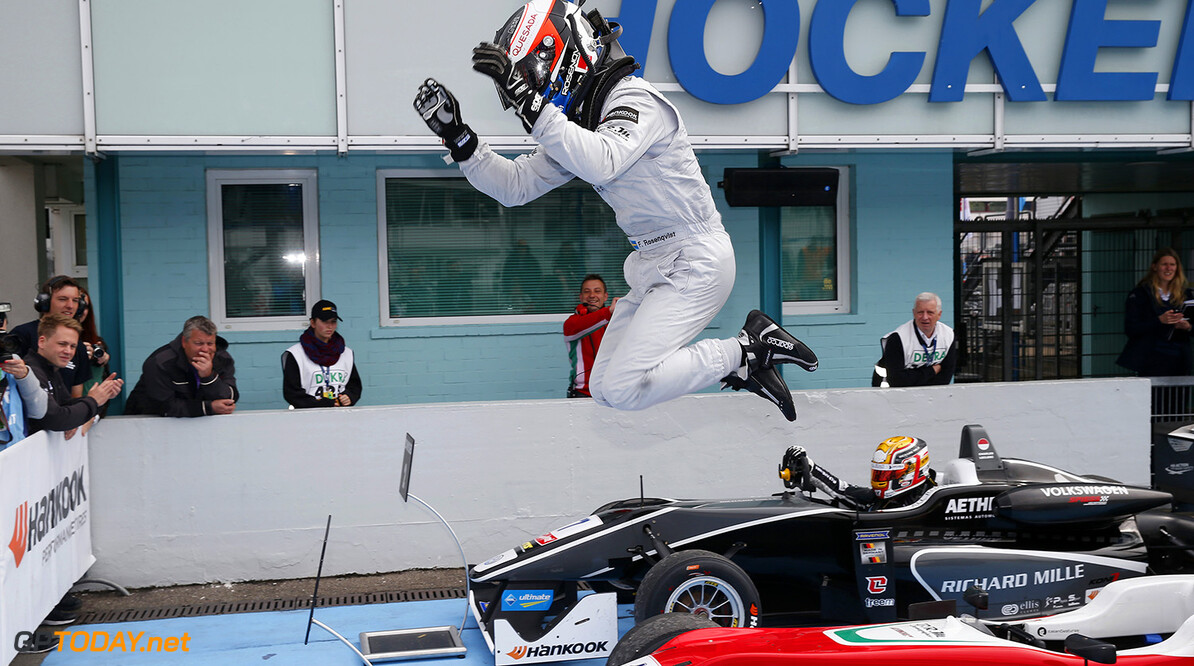 FIA Formula 3 European Championship, round 2, race 2, Hockenheim 1 Felix Rosenqvist (SWE, Prema Powerteam, Dallara F312 - Mercedes-Benz), FIA Formula 3 European Championship, round 2, race 2, Hockenheim (GER) - 30. April - 3. May 2015 FIA Formula 3 European Championship, round 2, race 2, Hockenheim (GER) Thomas Suer Hockenheim Germany
