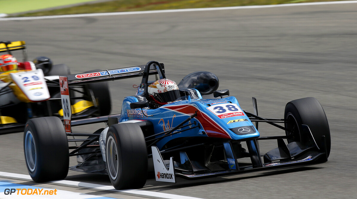 FIA Formula 3 European Championship, round 2, Hockenheim 38 Raoul Hyman (ZAF, Team West-Tec F3, Dallara F312 - Mercedes-Benz), FIA Formula 3 European Championship, round 2, Hockenheim (GER) - 30. April - 3. May 2015 FIA Formula 3 European Championship, round 2, Hockenheim (GER) Thomas Suer Hockenheim Germany