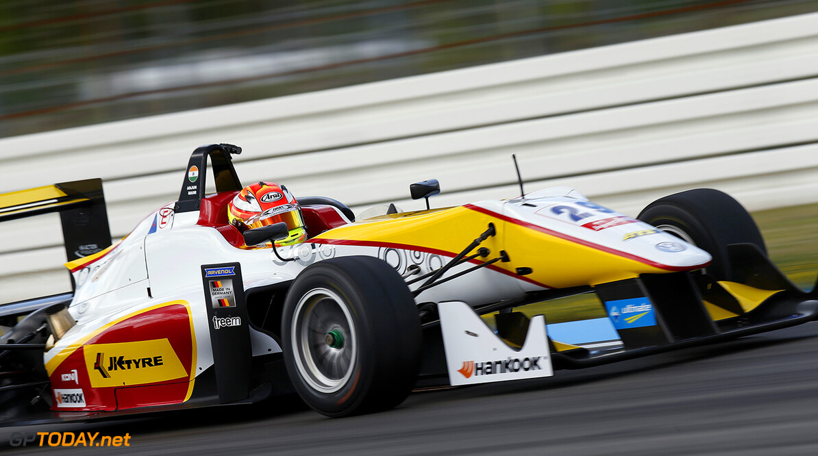 FIA Formula 3 European Championship, round 2, Hockenheim 29 Arjun Maini (IND, Van Amersfoort Racing, Dallara F312 - Volkswagen), FIA Formula 3 European Championship, round 2, Hockenheim (GER) - 30. April - 3. May 2015 FIA Formula 3 European Championship, round 2, Hockenheim (GER) Thomas Suer Hockenheim Germany
