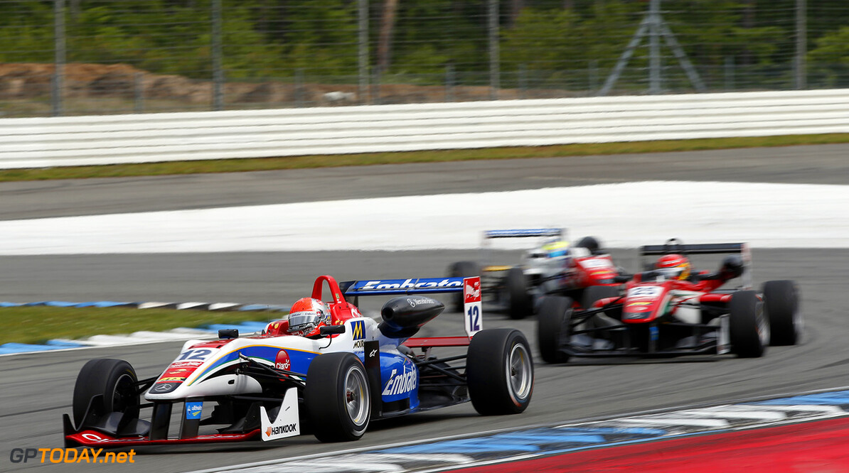 FIA Formula 3 European Championship, round 2, race 2, Hockenheim 12 Pietro Fittipaldi (BRA, Fortec Motorsports, Dallara F312 - Mercedes-Benz), FIA Formula 3 European Championship, round 2, race 2, Hockenheim (GER) - 30. April - 3. May 2015 FIA Formula 3 European Championship, round 2, race 2, Hockenheim (GER) Thomas Suer Hockenheim Germany