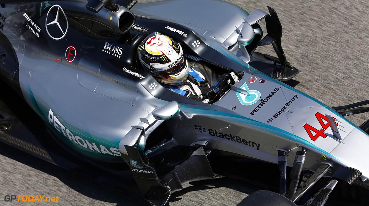 Hamilton deed aan schadebeperking in Spanje