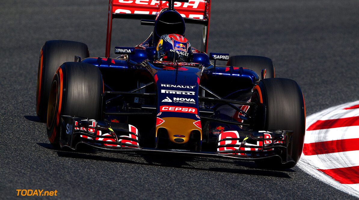 MONTMELO, SPAIN - MAY 08:  Max Verstappen of Netherlands and Scuderia Toro Rosso drives during practice for the Spanish Formula One Grand Prix at Circuit de Catalunya on May 8, 2015 in Montmelo, Spain.  (Photo by Dan Istitene/Getty Images) *** Local Caption *** Max Verstappen Spanish F1 Grand Prix - Practice Dan Istitene Montmelo Spain  Formula One Racing formula 1 Auto Racing Spain F1 Grand Prix Spanish Formula One Grand Prix Formula One Grand Prix