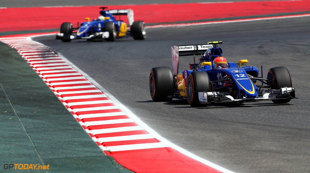 Spanish GP Friday 08/05/15 Felipe Nasr (BRA), Sauber F1 Team. 