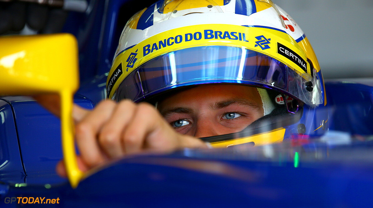 Spanish GP Saturday 09/05/15 Marcus Ericsson (SWE), Sauber F1 Team. Circuit de Catalunya.  Spanish GP Saturday 09/05/15 Jean Francois Galeron Montmelo Spain  F1 Formula One 2015 Pits Ericsson Sauber
