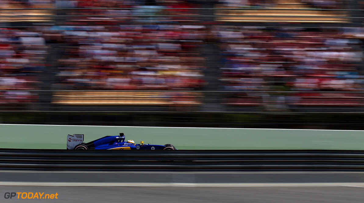 Spanish GP Race 10/05/15 Marcus Ericsson (SWE) Sauber F1 Team. 