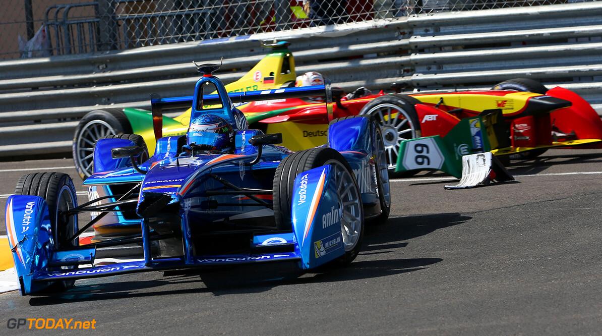 2014/2015 FIA Formula E Championship.  Monaco ePrix, Monte Carlo, Monaco, Europe. Saturday 9 May 2015  Photo: Jed Leicester /LAT/Formula E ref: Digital Image JL1_3989