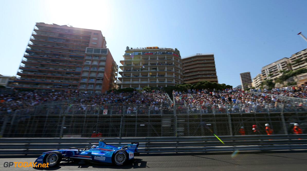 2014/2015 FIA Formula E Championship.  Monaco ePrix, Monte Carlo, Monaco, Europe. Saturday 9 May 2015  Photo: Jed Leicester /LAT/Formula E ref: Digital Image JL1_4180