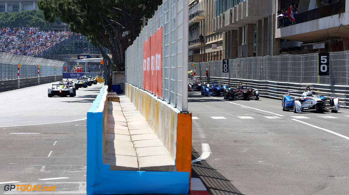 2014/2015 FIA Formula E Championship.  Monaco ePrix, Monte Carlo, Monaco, Europe. Saturday 9 May 2015  Photo: Jed Leicester /LAT/Formula E ref: Digital Image JL1_4011