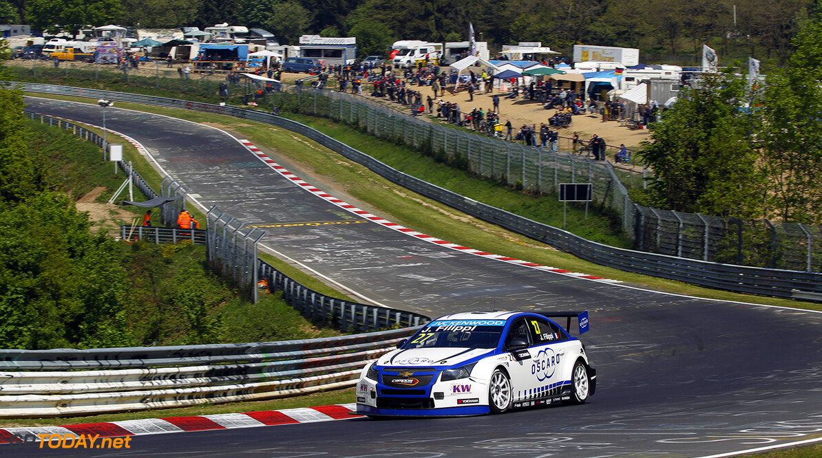 27 FILIPPI John (fra) Chevrolet Cruze team Campos racing action during the 2015 FIA WTCC World Touring Car Race of Nurburgring, Germany from May 15th to 17th 2015. Photo Florent Gooden / DPPI. AUTO - WTCC NURBURGING 2015 Florent Gooden Nurburg Germany  AUTO CHAMPIONNAT DU MONDE CIRCUIT COURSE FIA Motorsport TOURISME WTCC allemagne europe