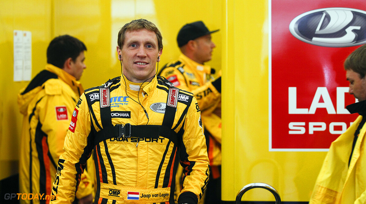 VAN LAAGEN Jaap (ned) Lada Vesta team Lada Sport Rosneft ambiance portrait during the 2015 FIA WTCC World Touring Car Race of Nurburgring, Germany from May 15th to 17th 2015. Photo Florent Gooden / DPPI. AUTO - WTCC NURBURGING 2015 Florent Gooden Nurburg Germany  AUTO CHAMPIONNAT DU MONDE CIRCUIT COURSE FIA Motorsport TOURISME WTCC allemagne europe