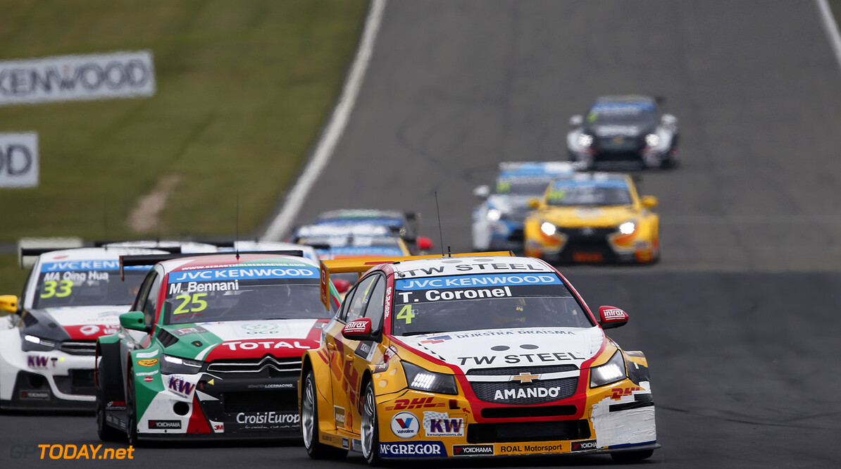 04 CORONEL Tom (ned) Chevrolet Cruze team Roal motorsport action during the 2015 FIA WTCC World Touring Car Race of Nurburgring, Germany from May 15th to 17th 2015. Photo Jean Michel Le Meur / DPPI. AUTO - WTCC NURBURGING 2015 Jean Michel Le Meur  Nurburg Germany  Auto CHAMPIONNAT DU MONDE CIRCUIT COURSE Europe FIA Motorsport TOURISME WTCC allemagne