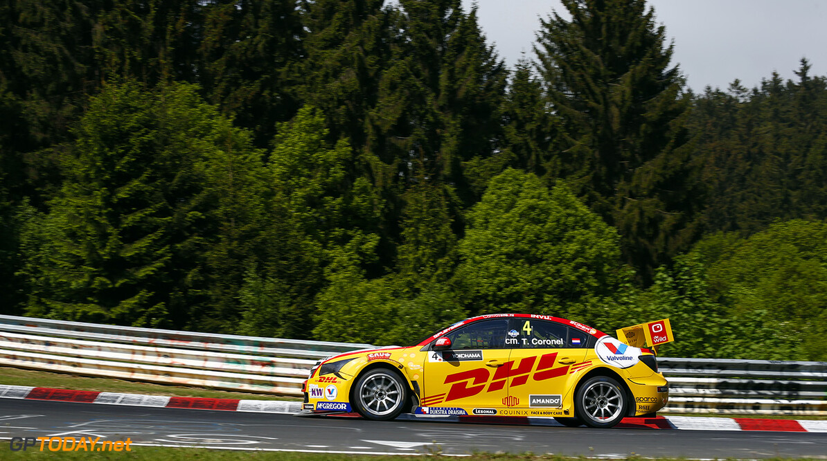 04 CORONEL Tom (ned) Chevrolet Cruze team Roal motorsport action during the 2015 FIA WTCC World Touring Car Race of Nurburgring, Germany from May 15th to 17th 2015. Photo Florent Gooden / DPPI. AUTO - WTCC NURBURGING 2015 Florent Gooden Nurburg Germany  AUTO CHAMPIONNAT DU MONDE CIRCUIT COURSE FIA Motorsport TOURISME WTCC allemagne europe