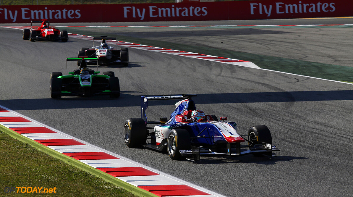2015 GP3 Series Round 1. Circuit de Catalunya, Barcelona, Spain.  Saturday 9 May 2015 Antonio Fuoco (ITA, Carlin)  Photo: Sam Bloxham/GP3 Media Service ref: Digital Image _SBL6575   Sam Bloxham    Race 1