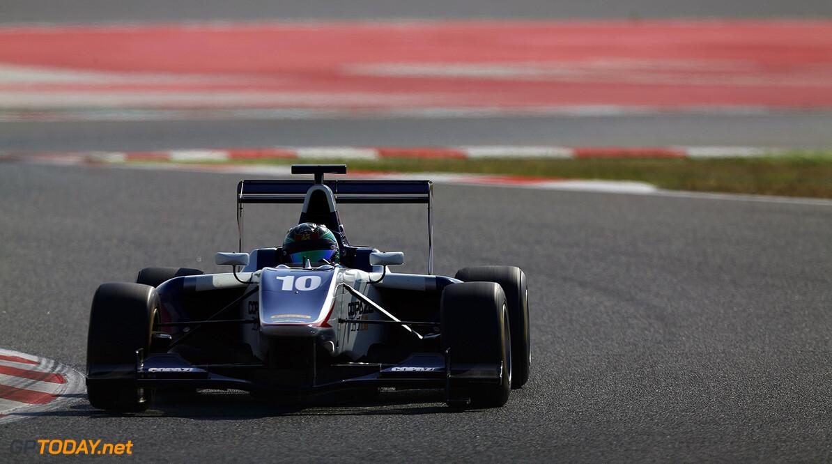 2015 GP3 Series Round 1. Circuit de Catalunya, Barcelona, Spain.  Saturday 9 May 2015 Adderly Fong (HKG, Koiranen GP)  Photo: Sam Bloxham/GP3 Media Service ref: Digital Image _SBL5497   Sam Bloxham    Qualifying