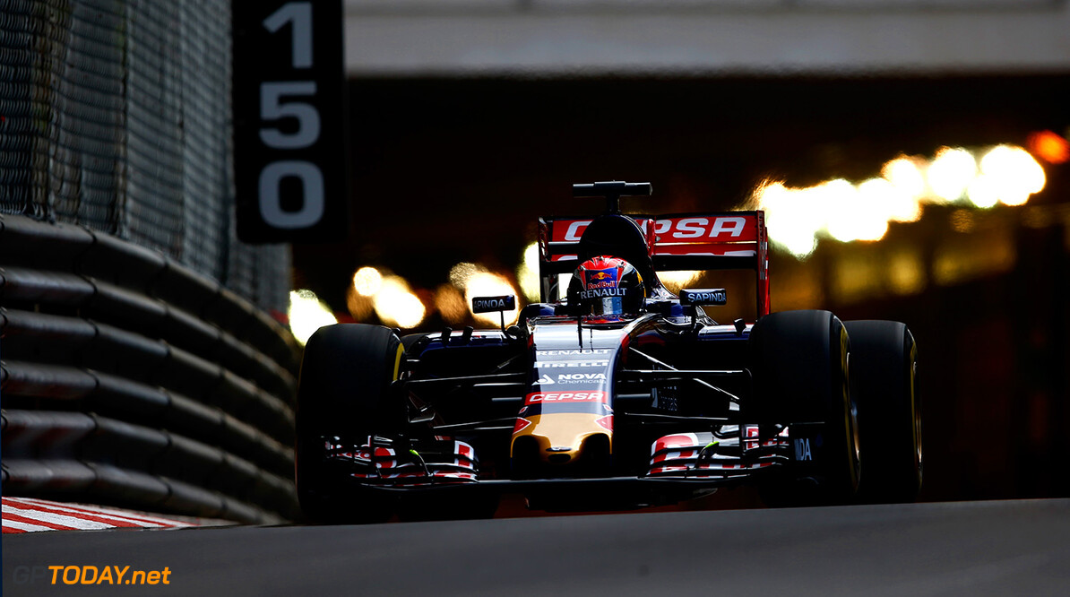527885627KR00052_F1_Grand_P MONTE-CARLO, MONACO - MAY 21:  Max Verstappen of Netherlands and Scuderia Toro Rosso drives during practice for the Monaco Formula One Grand Prix at Circuit de Monaco on May 21, 2015 in Monte-Carlo, Monaco.  (Photo by Paul Gilham/Getty Images) *** Local Caption *** Max Verstappen F1 Grand Prix of Monaco - Practice Paul Gilham Monte-Carlo Monaco  Formula One Racing formula 1 Auto Racing Formula One Grand Prix Monaco GP Monaco Formula One Grand Prix