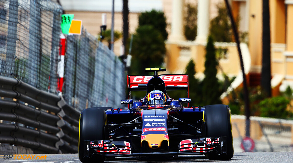 527885627KR00079_F1_Grand_P MONTE-CARLO, MONACO - MAY 21:  Carlos Sainz of Spain and Scuderia Toro Rosso drives during practice for the Monaco Formula One Grand Prix at Circuit de Monaco on May 21, 2015 in Monte-Carlo, Monaco.  (Photo by Mark Thompson/Getty Images) *** Local Caption *** Carlos Sainz F1 Grand Prix of Monaco - Practice Mark Thompson Monte-Carlo Monaco  Formula One Racing formula 1 Auto Racing Formula One Grand Prix Monaco GP Monaco Formula One Grand Prix