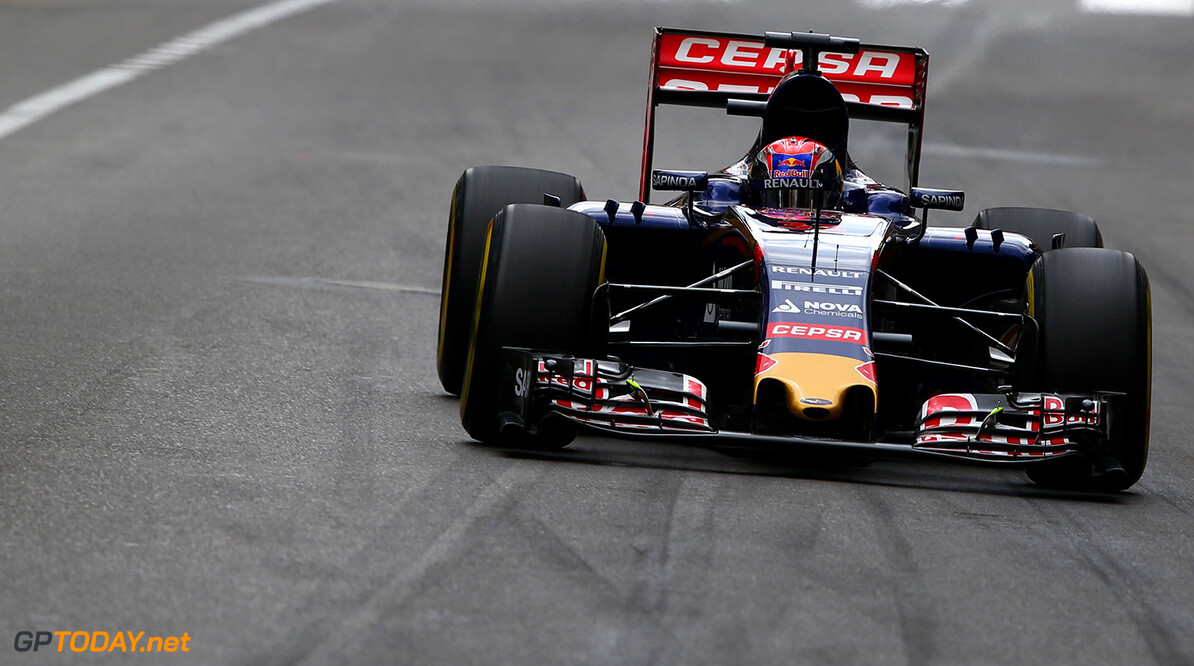 MONTE-CARLO, MONACO - MAY 21:  Max Verstappen of Netherlands and Scuderia Toro Rosso drivesduring practice for the Monaco Formula One Grand Prix at Circuit de Monaco on May 21, 2015 in Monte-Carlo, Monaco.  (Photo by Dan Istitene/Getty Images) *** Local Caption *** Max Verstappen F1 Grand Prix of Monaco - Practice Dan Istitene Monte-Carlo Monaco  Formula One Racing formula 1 Auto Racing Formula One Grand Prix Monaco GP Monaco Formula One Grand Prix