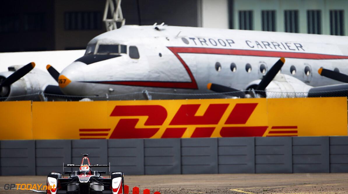 2014/2015 FIA Formula E Championship. Berlin ePrix, Berlin Tempelhof Airport, Germany. Saturday 23 May 2015  Photo: Zak Mauger/LAT/Formula E ref: Digital Image _L0U8463   Zak Mauger    fe formula e