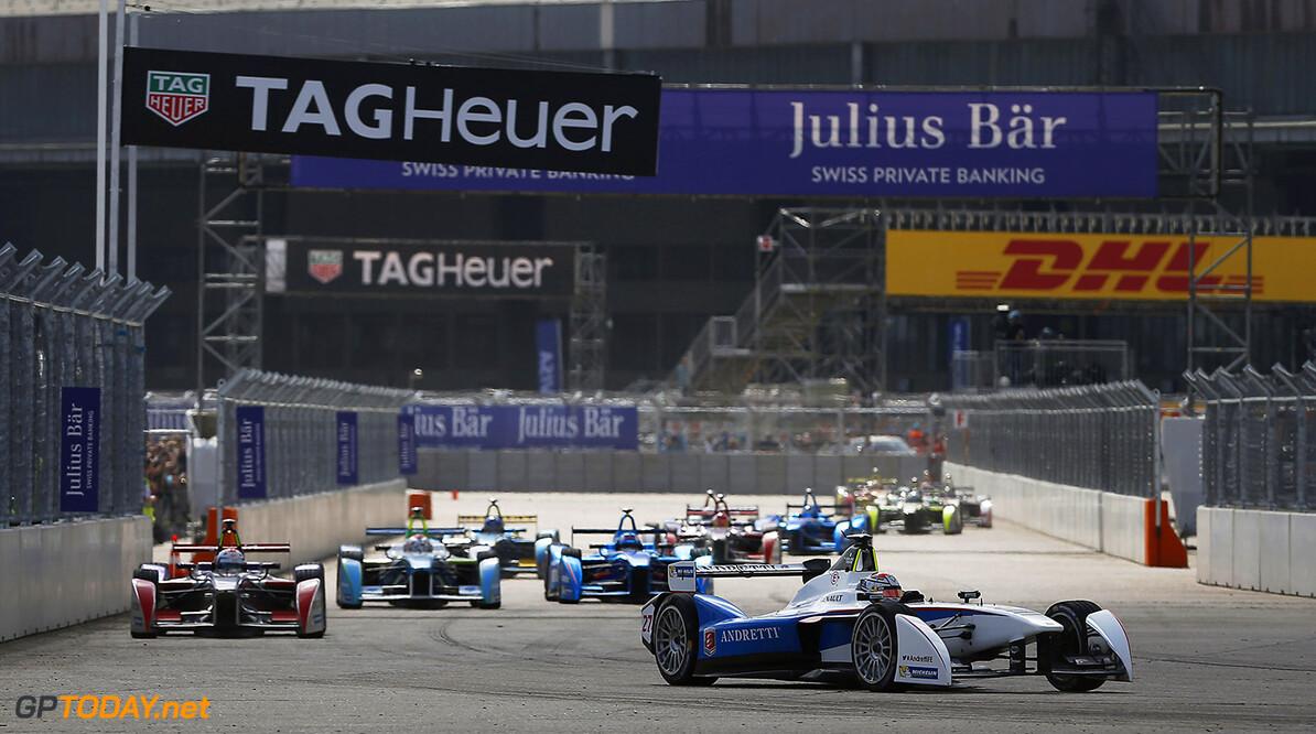 2014/2015 FIA Formula E Championship. Berlin ePrix, Berlin Tempelhof Airport, Germany. Saturday 23 May 2015  Photo: Zak Mauger/LAT/Formula E ref: Digital Image _L0U9342   Zak Mauger    fe formula e