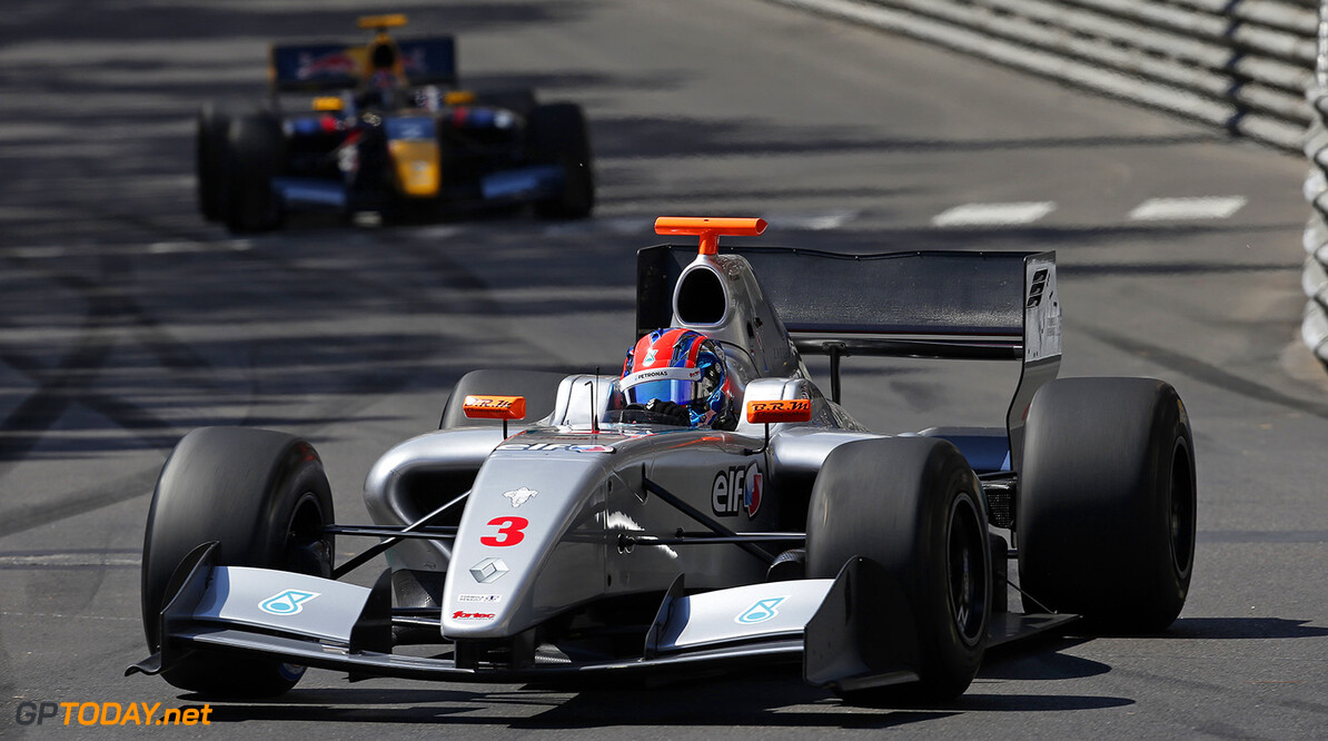 03 JAAFAR Jazeman (MAL) Fortec Motorsports (GBR) action during the 2015 Formula Renault 3.5 race at Monaco from May 22 to 24th 2015, in Monaco. Photo Jean Michel Le Meur / DPPI AUTO - MONACO FR 3.5 2015 JEAN MICHEL LE MEUR Monaco Monaco  Auto Car FR FR 3.5 Formule Renault WSR World Series by Renault MAI MAY MONACO MONOPLACE Motorsport Race UNIPLACE