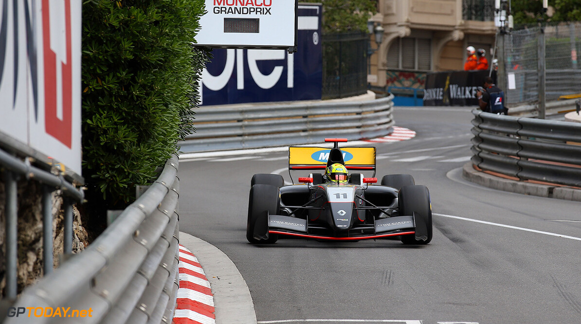 11 ELLINAS Tio (CYP) Strakka Racing (GBR) action during the 2015 Formula Renault 3.5 race at Monaco from May 22 to 24th 2015, in Monaco. Photo Gregory Lenormand / DPPI AUTO - MONACO FR 3.5 2015 GREGORY LENORMAND Monaco Monaco  Auto Car FR FR 3.5 Formule Renault WSR World Series by Renault MAI MAY MONACO MONOPLACE Motorsport Race UNIPLACE