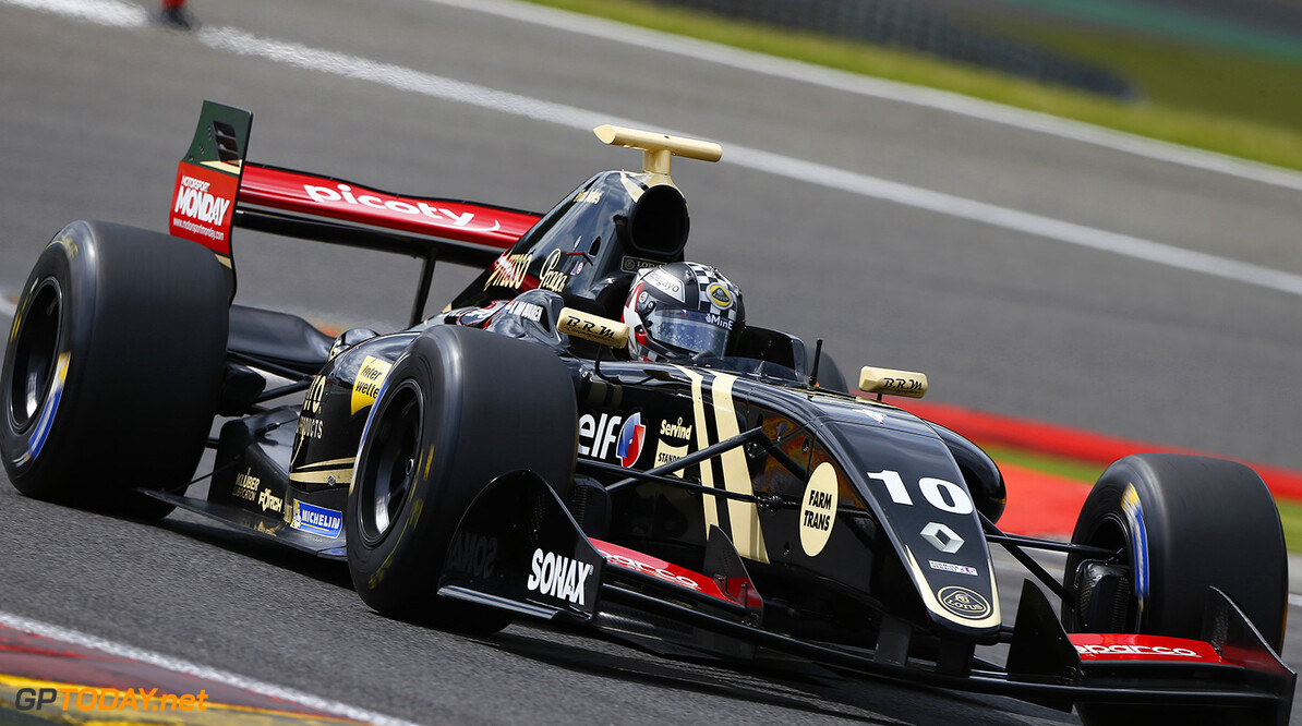 10 VAN_BUUREN Meindert (NED) Lotus (CZE) action during the 2015 World Series by Renault from May 29th to 31st 2015, at Spa Francorchamps, Belgium. Photo Frederic Le Floch / DPPI. AUTO - WSR SPA FRANCORCHAMPS 2015 Frederic Le Floch Spa Belgium  2.0 2015 Auto Car CHAMPIONNAT ESPAGNE Europe FORMULA RENAULT FORMULES FR FR 3.5 MONOPLACE Motorsport Race RENAULT SPORT series Sport UNIPLACE VOITURES WORLD WORLD SERIES BY RENAULT WSR
