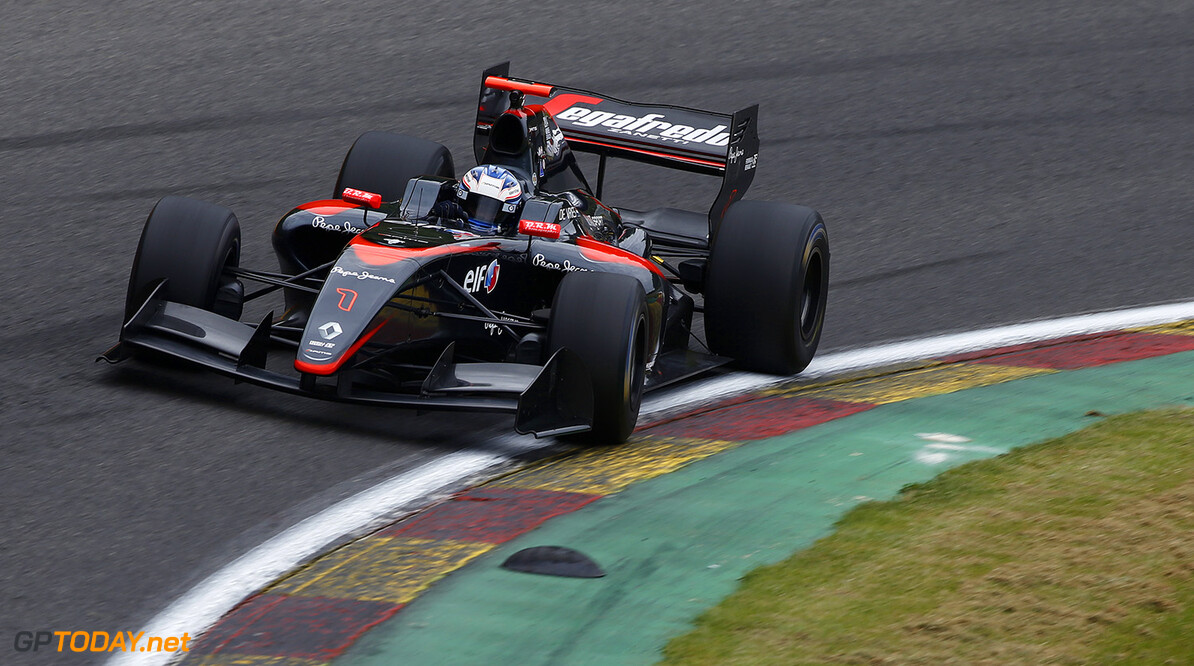 01 DE_VRIES Nyck (NED) Dams (FRA) action during the 2015 World Series by Renault from May 29th to 31st 2015, at Spa Francorchamps, Belgium. Photo Florent Gooden / DPPI. AUTO - WSR SPA FRANCORCHAMPS 2015 Florent Gooden Spa Belgium  2.0 2015 Auto Car CHAMPIONNAT ESPAGNE Europe FORMULA RENAULT FORMULES FR FR 3.5 MONOPLACE Motorsport Race RENAULT SPORT series Sport UNIPLACE VOITURES WORLD WORLD SERIES BY RENAULT WSR