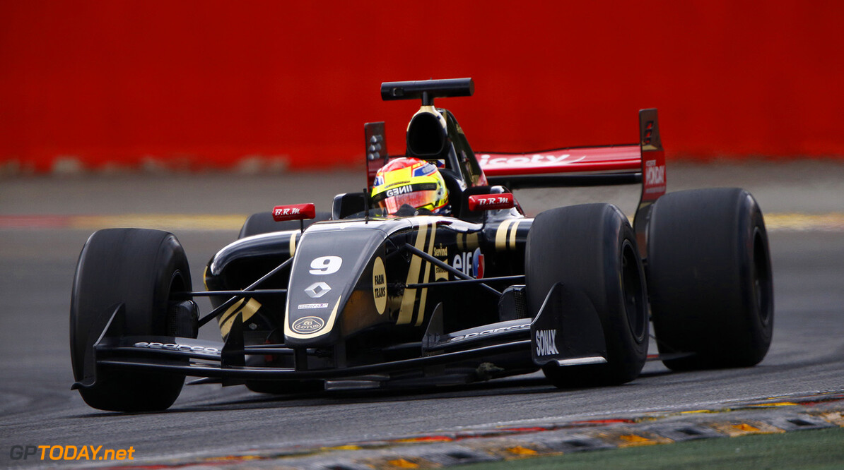 09 VAXIVIERE Matthieu (FRA) Lotus (CZE) action during the 2015 World Series by Renault from May 29th to 31st 2015, at Spa Francorchamps, Belgium. Photo Frederic Le Floch / DPPI. AUTO - WSR SPA FRANCORCHAMPS 2015 Frederic Le Floch Spa Belgium  2.0 2015 Auto Car CHAMPIONNAT ESPAGNE Europe FORMULA RENAULT FORMULES FR FR 3.5 MONOPLACE Motorsport Race RENAULT SPORT series Sport UNIPLACE VOITURES WORLD WORLD SERIES BY RENAULT WSR
