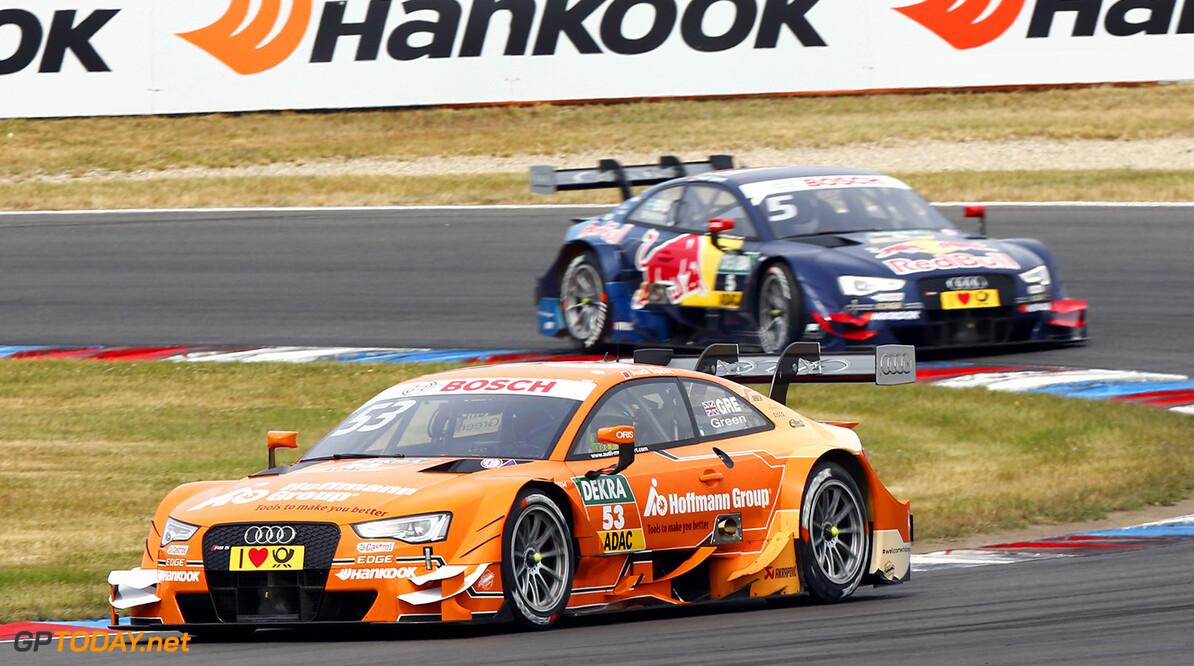 #53 Jamie Green, Audi RS5 DTM, #5 Mattias Ekstrom, Audi RS5 DTM