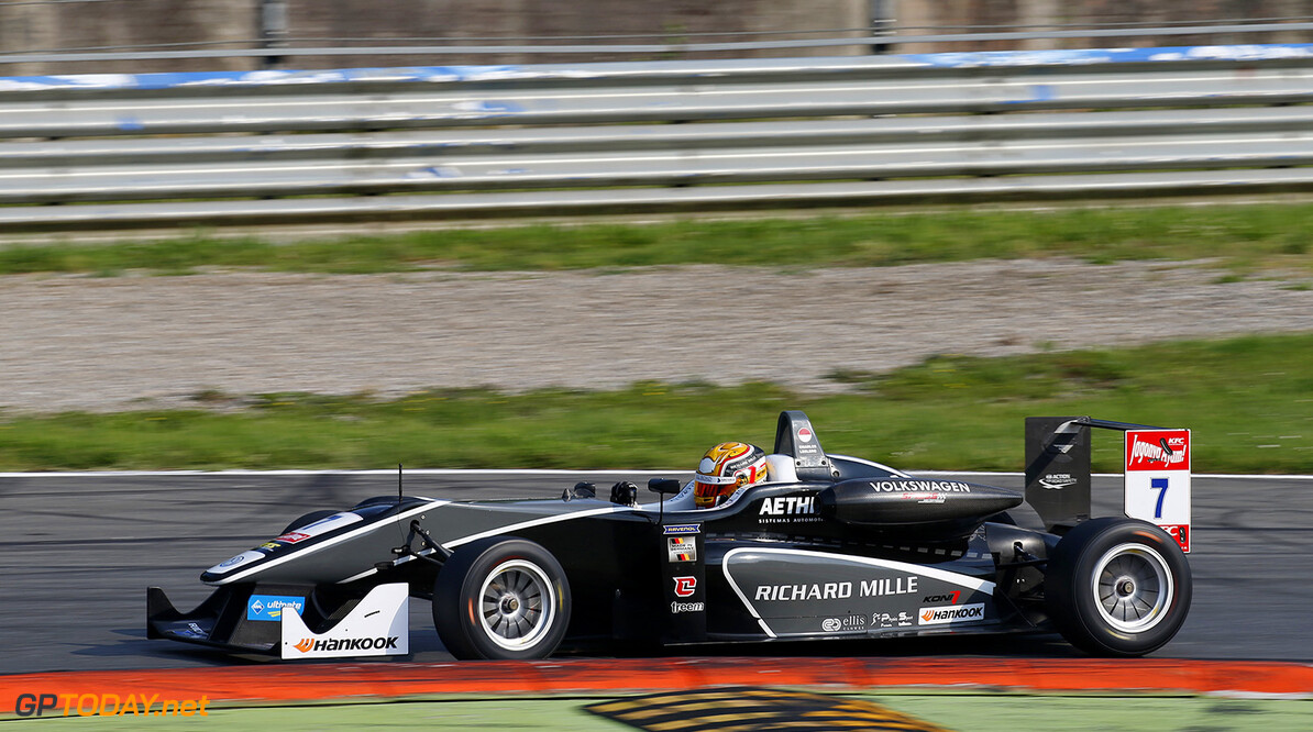FIA Formula 3 European Championship, round 4, race 2, Monza 7 Charles Leclerc (MCO, Van Amersfoort Racing, Dallara F312 - Volkswagen), FIA Formula 3 European Championship, round 4, race 2, Monza (ITA) - 29. - 31. May 2015 FIA Formula 3 European Championship, round 4, race 2, Monza (ITA) Thomas Suer Monza Italy