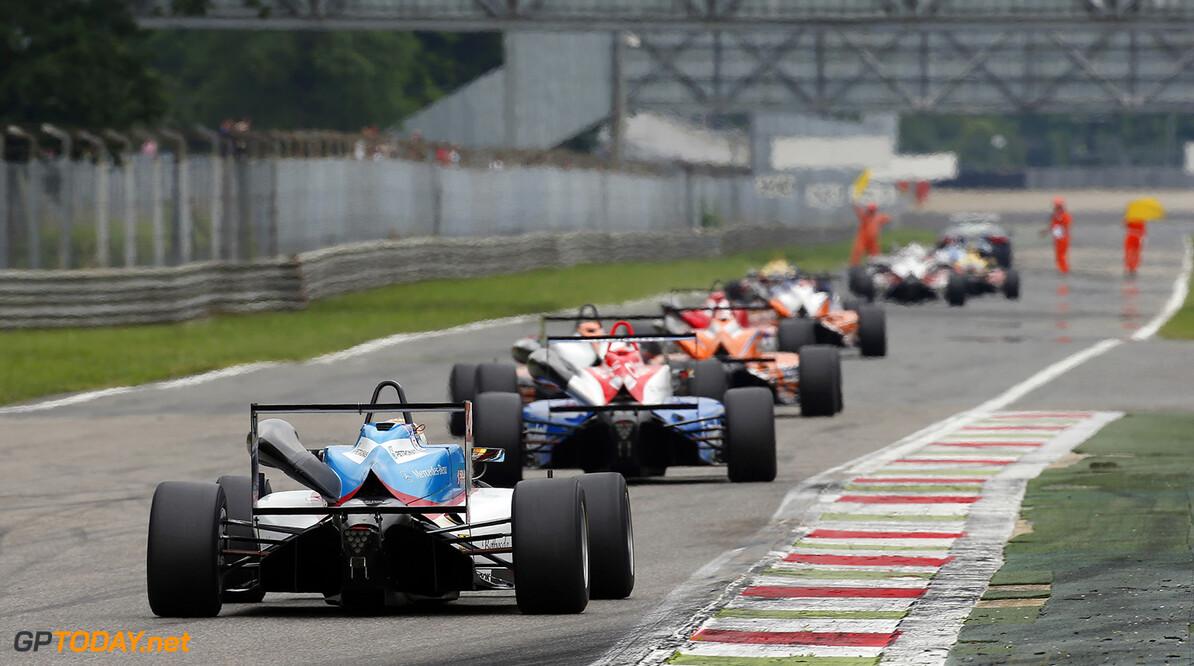 FIA Formula 3 European Championship, round 4, race 3, Monza 38 Raoul Hyman (ZAF, Team West-Tec F3, Dallara F312 - Mercedes-Benz), FIA Formula 3 European Championship, round 4, race 3, Monza (ITA) - 29. - 31. May 2015 FIA Formula 3 European Championship, round 4, race 3, Monza (ITA) Thomas Suer Monza Italy