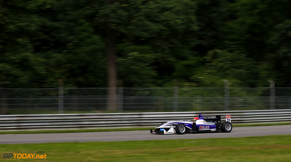 FIA Formula 3 European Championship, round 4, Monza 31 Hongwei Cao (CHN, Fortec Motorsports, Dallara F312 - Mercedes-Benz), FIA Formula 3 European Championship, round 4, Monza (ITA) - 29. - 31. May 2015 FIA Formula 3 European Championship, round 4, Monza (ITA) Thomas Suer Monza Italy
