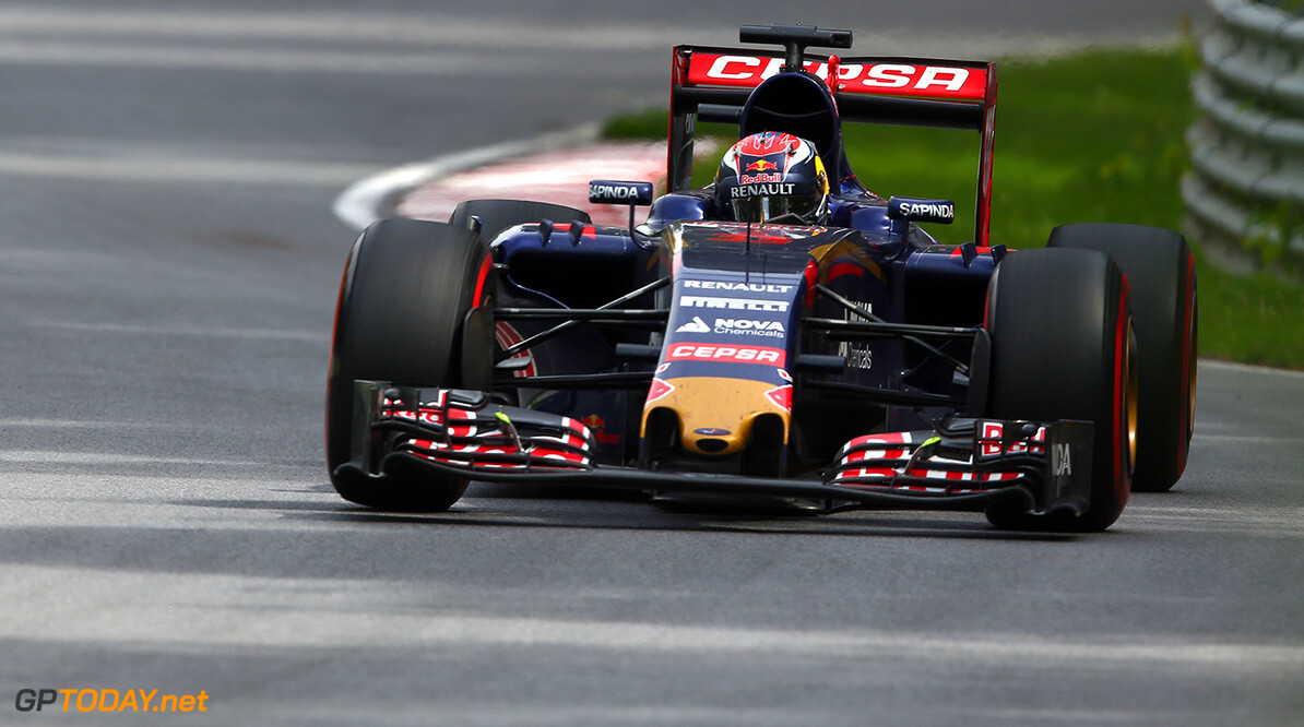 MONTREAL, QC - JUNE 07:  Max Verstappen of Netherlands and Scuderia Toro Rosso drives during the Canadian Formula One Grand Prix at Circuit Gilles Villeneuve on June 7, 2015 in Montreal, Canada.  (Photo by Mark Thompson/Getty Images) // Getty Images/Red Bull Content Pool // P-20150608-00011 // Usage for editorial use only // Please go to www.redbullcontentpool.com for further information. //  Canadian F1 Grand Prix Mark Thompson Montreal (City) Canada  P-20150608-00011