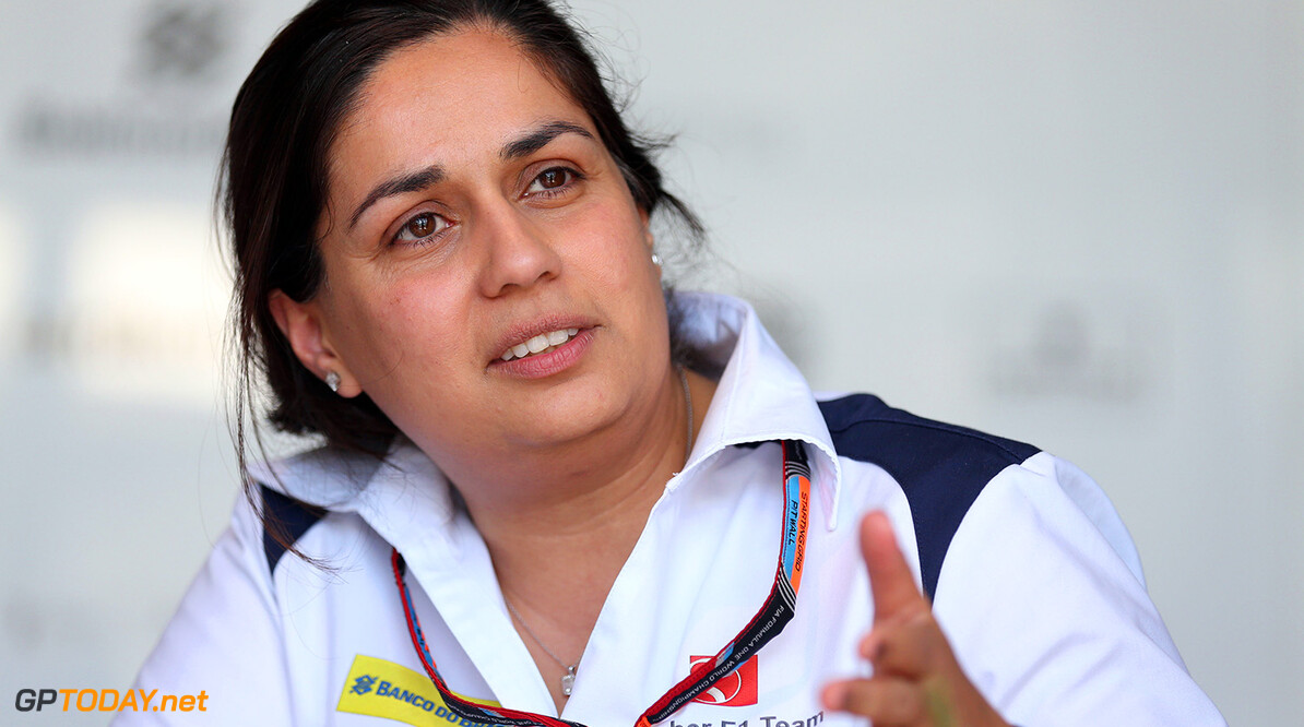 Canadian GP Thursday 04/06/15 Monisha Kaltenborn (AUT), Sauber F1 Team CEO and Team Principal. 