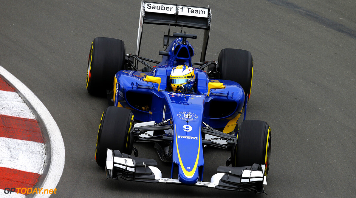 Canadian GP Friday 05/06/15 Marcus Ericsson (SWE), Sauber F1 Team. Circuit Ile Notre Dame.  Canadian GP Friday 05/06/15 Jean Francois Galeron Montreal Canada  F1 Formula One 2015 Action Ericsson Sauber