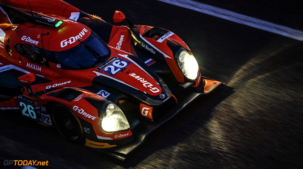 DSCF9441.jpg Car #26 / G-DRIVE RACING (RUS) / LIGIER JS P2 - NISSAN / Roman RUSINOV (RUS) / Julien CANAL (FRA) / Sam BIRD (GBR) - Le Mans 24 Hours at Circuit Des 24 Heures - Le Mans - France  Car #26 / G-DRIVE RACING (RUS) / LIGIER JS P2 - NISSAN / Roman RUSINOV (RUS) / Julien CANAL (FRA) / Sam BIRD (GBR) - Le Mans 24 Hours at Circuit Des 24 Heures - Le Mans - France  John Rourke Le Mans France  Adrenal Media Le Mans 24 Hours Le Mans France FIA WEC