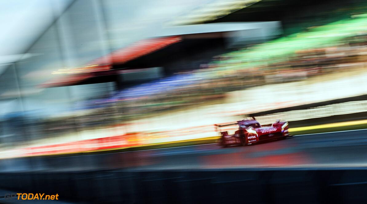 ND5_1732.jpg Car #21 / NISSAN MOTORSPORTS (JPN) / NISSAN GT-R LM NISMO Hybrid / Tsugio MATSUDA (JPN) / Mark SHULZHITSKIY (RUS) / Lucas ORDONEZ (ESP) - Le Mans 24 Hours at Circuit Des 24 Heures - Le Mans - France  Car #21 / NISSAN MOTORSPORTS (JPN) / NISSAN GT-R LM NISMO Hybrid / Tsugio MATSUDA (JPN) / Mark SHULZHITSKIY (RUS) / Lucas ORDONEZ (ESP) - Le Mans 24 Hours at Circuit Des 24 Heures - Le Mans - France  Nick Dungan Le Mans France  Adrenal Media Le Mans 24 Hours Le Mans France FIA WEC