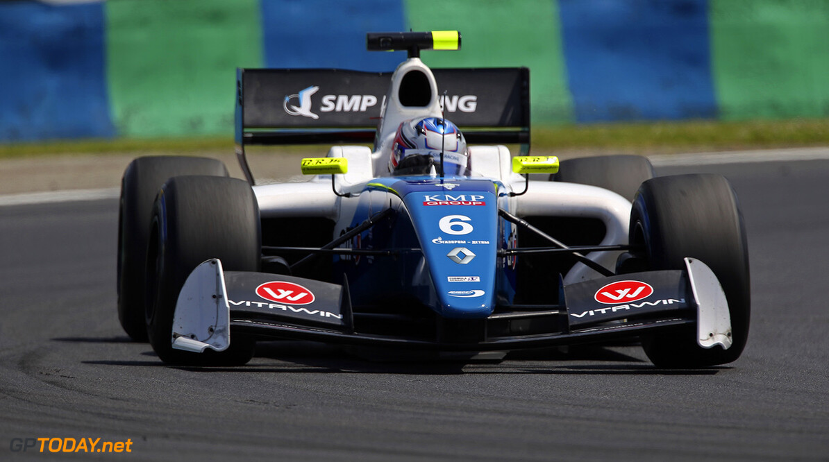 06 ORUDZHEV Egor (RUS) Arden Motorsport (GBR) action during the 2015 World Series by Renault from June 13th to 15th  2015, at Hungaroring, Budapest, Hungary. Photo Gregory Lenormand / DPPI. AUTO - WSR HUNGARORING 2015 Gregory Lenormand Budapest Hungary  2.0 2015 Auto Car CHAMPIONNAT ESPAGNE Europe FORMULA RENAULT FORMULES FR FR 3.5 MONOPLACE Motorsport Race RENAULT SPORT series Sport UNIPLACE VOITURES WORLD WORLD SERIES BY RENAULT WSR