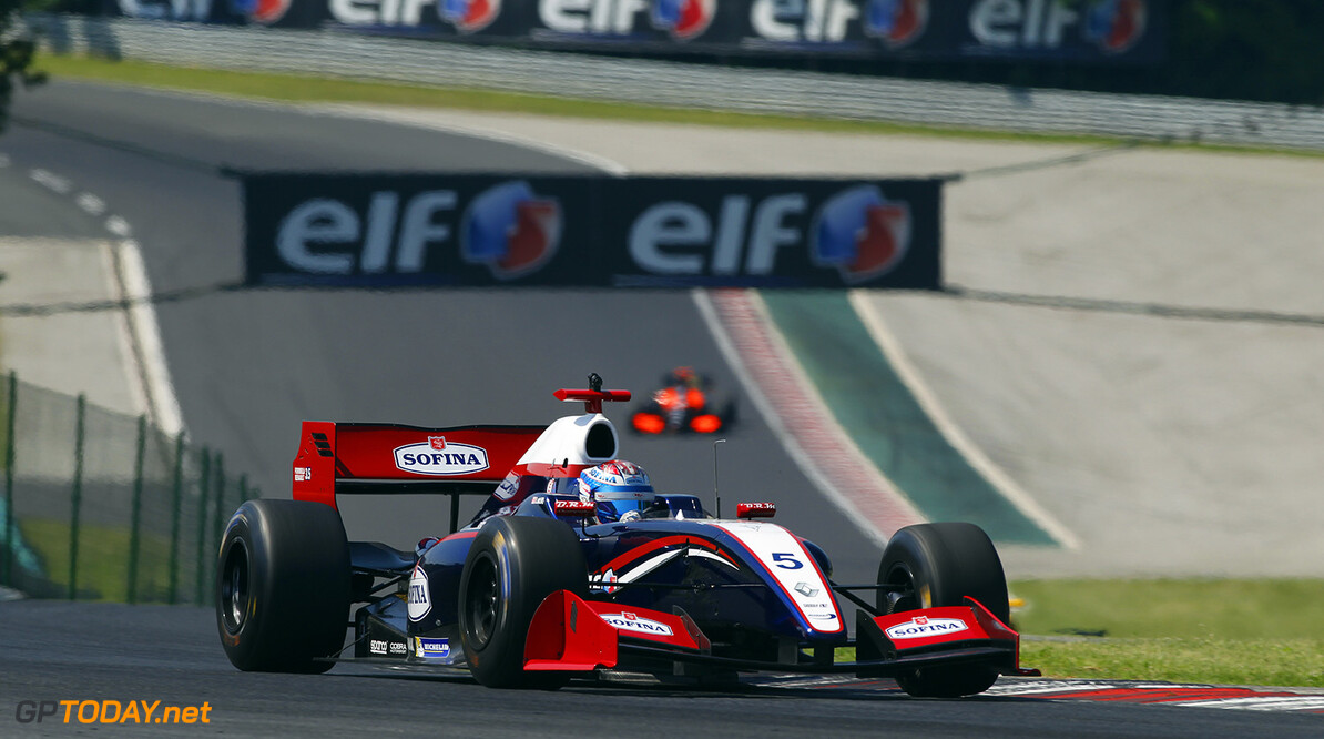 05 LATIFI Nicholas (CAN) Arden Motorsport (GBR) action during the 2015 World Series by Renault from June 13th to 15th  2015, at Hungaroring, Budapest, Hungary. Photo Florent Gooden / DPPI. AUTO - WSR HUNGARORING 2015 Florent Gooden Budapest Hungary  2.0 2015 Auto Car CHAMPIONNAT ESPAGNE Europe FORMULA RENAULT FORMULES FR FR 3.5 MONOPLACE Motorsport Race RENAULT SPORT series Sport UNIPLACE VOITURES WORLD WORLD SERIES BY RENAULT WSR